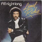 Lionel Richie, All Night Long, paroles