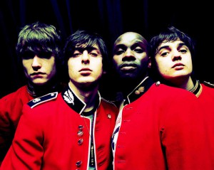 The Libertines, avec notamment Carl Barat et Pete Doherty.