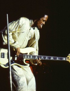 Verdine White (Earth, Wind & Fire) en 1982.
