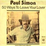 Paul Simon, 50 Ways To Leave Your Lover, paroles