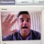 Robbie Williams en live sur Chatroulette