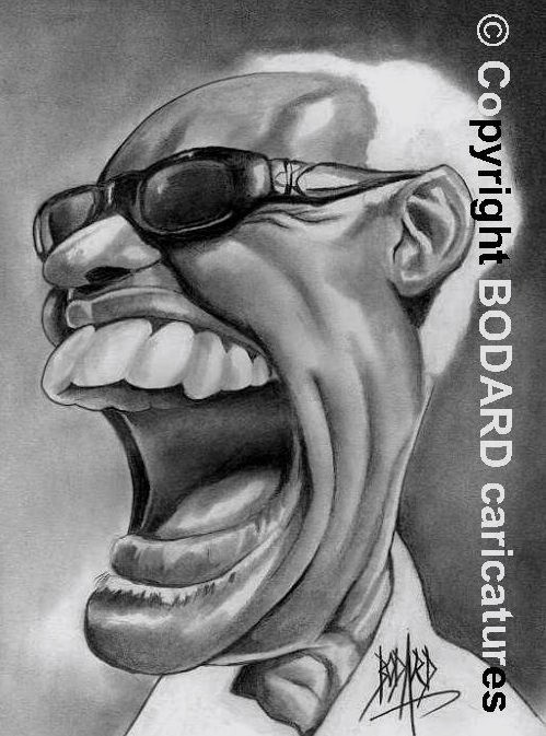 ray-charles-portrait-caricature