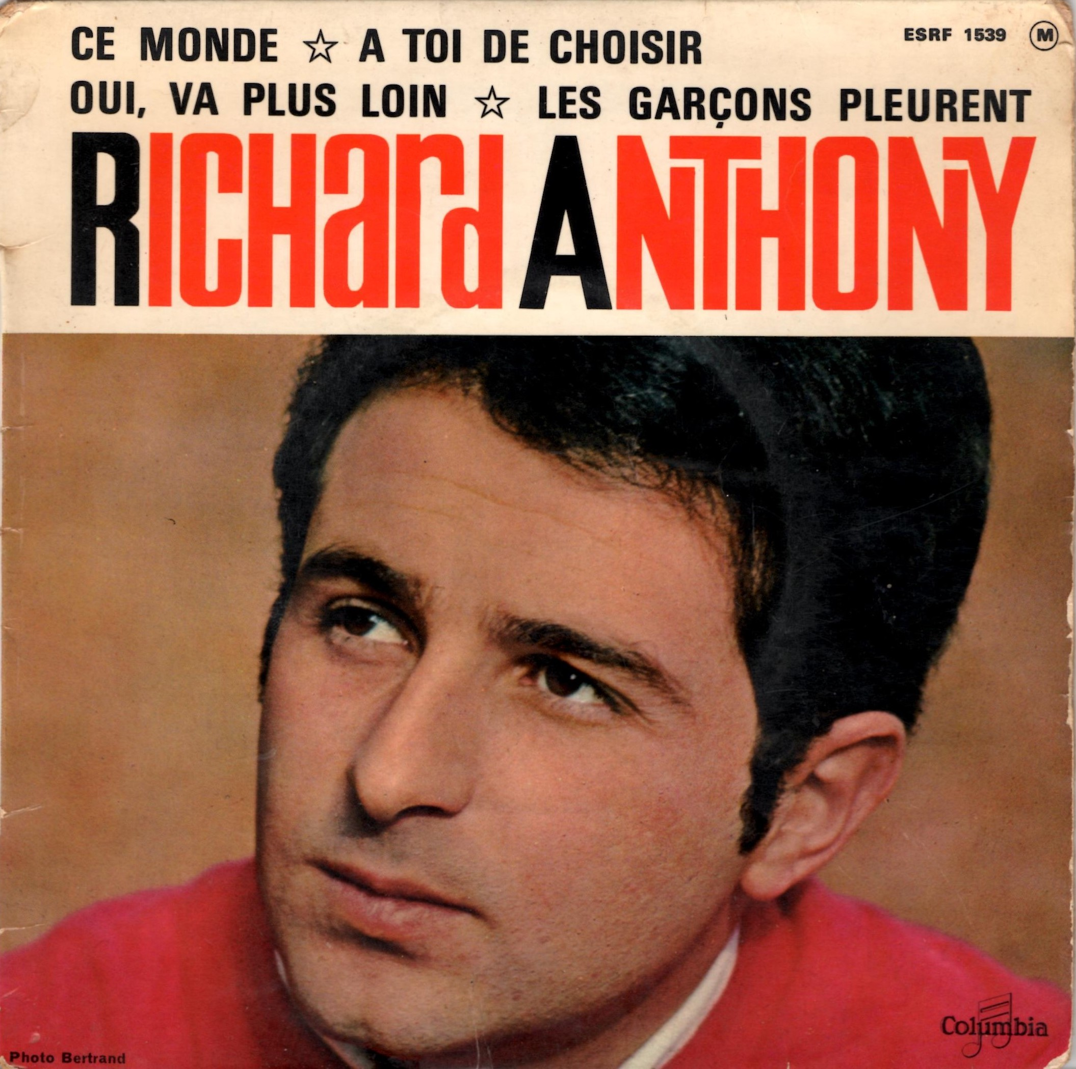 Richard Anthony - C'est À Prendre Ou À Laisser / Los Angeles